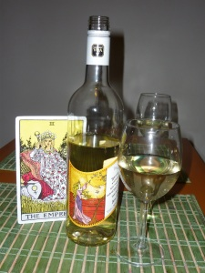 Enjoying Reif Estate Empress Chardonnay