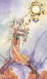 The Empress from the Shadowscapes Tarot by Stephanie Pui-Mun Law