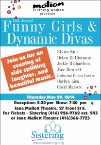 Funny Girls and Dynamic Divas